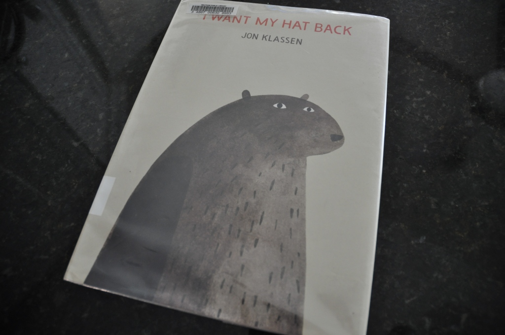Daddy-Daughter Book Review:  I Want My Hat Back